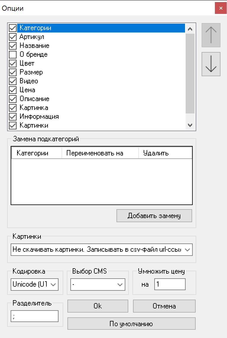 Парсер STOLNIK24.RU